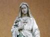 Rekonstrukcja i odnowienie figury Matki Boskiej - przed