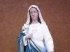 Rekonstrukcja i odnowienie figury Matki Boskiej - po