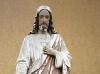 Rekonstrukcja i odnowienie figury Jezusa - przed