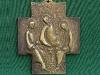 Krzyżyk z Trójcą Św wg ikony A. Rublowa
