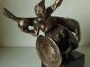 Statuetka rugby na wózkach