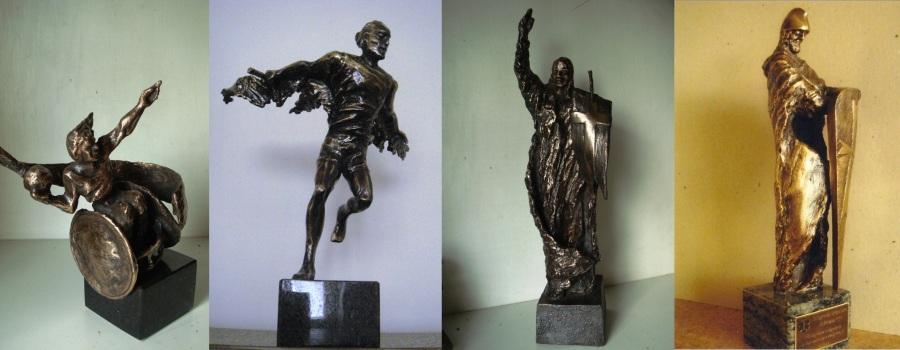 przykłady realizacji – statuetki
